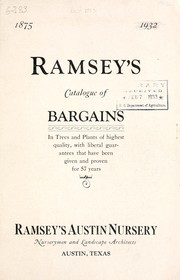Cover of: Ramsey