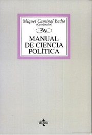 Cover of: Manual de Ciencia Política