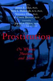 Cover of: Prostitution |