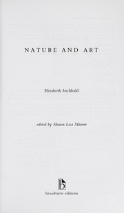 Cover of: Nature and art | Mrs. Inchbald