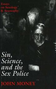 Cover of: Sin, science, and the sex police