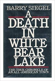 Cover of: A Death in White Bear Lake | Barry Siegel