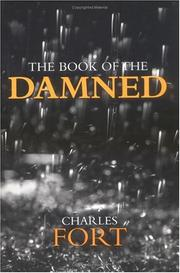 Cover of: The book of the damned