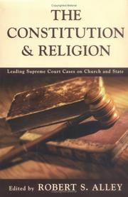 Cover of: The Constitution & Religion