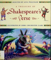 Cover of: A treasury of Shakespeare's verse | William Shakespeare