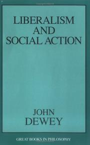 Cover of: Liberalism and social action