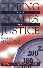 Cover of: Tipping the Scales of Justice | Sondra Solovay