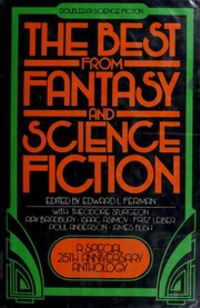 Cover of: The Best from Fantasy and Science Fiction: A Special 25th Anniversary Anthology