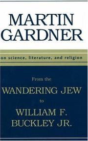 Cover of: From the Wandering Jew to William F. Buckley | Martin Gardner