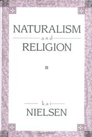 Cover of: Naturalism and Religion