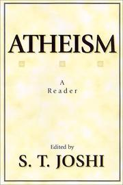 Cover of: Atheism | S. T. Joshi