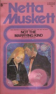 Cover of: Not the Marrying Kind