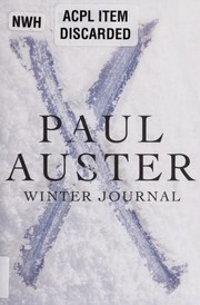 Cover of: Winter journal | Paul Auster