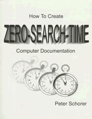 Cover of: How to create zero-search-time computer documentation