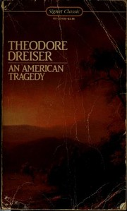 Cover of: An American tragedy, [by] Theodore Dreiser |