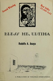 Cover of: Bless me, Ultima | Rudolfo A. Anaya