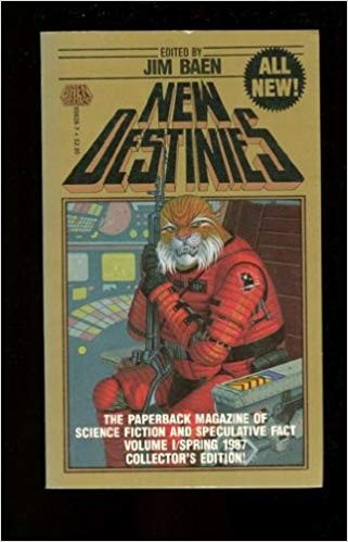 New destinies : the paperback magazine of science fiction and speculative fact by