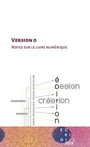 Cover of: Version 0. Notes sur le livre numérique by