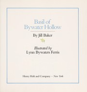 Cover of: Basil of Bywater Hollow | Jill Baker