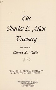 Cover of: The Charles L. Allen treasury