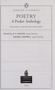 Cover of: Poetry | Wanda Campbell, R. S. Gwynn