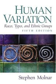 Cover of: Human variation | Stephen Molnar