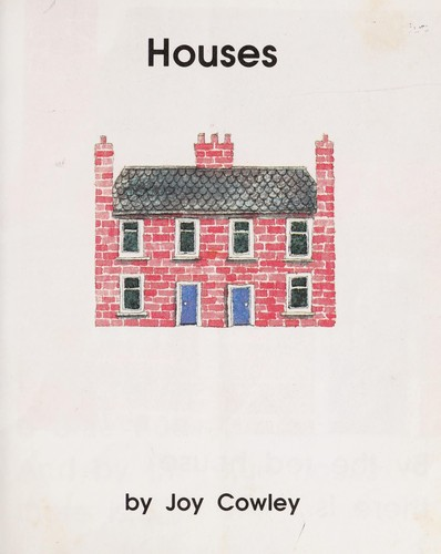 Houses by Joy Cowley