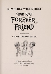 Cover of: Piper Reed, forever friend