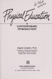 Cover of: Physical education | Angela Lumpkin
