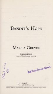 Cover of: Bandit's hope | Marcia Gruver