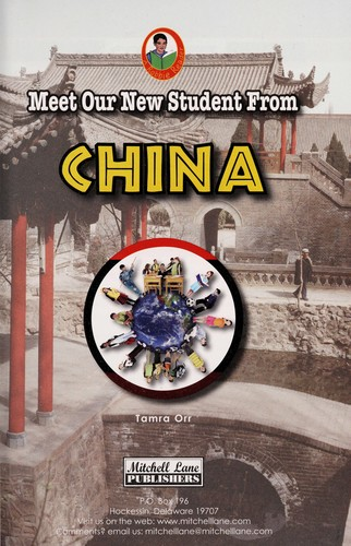 Meet our new student from China by Tamra Orr