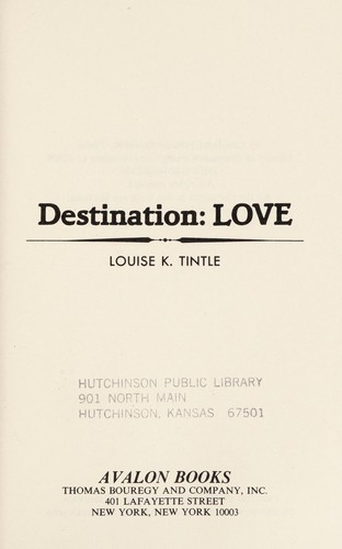 Destination by Louise K. Tintle