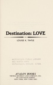 Cover of: Destination | Louise K. Tintle