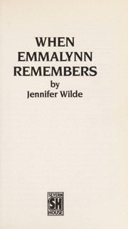 Cover of: When Emmalynn Remembers