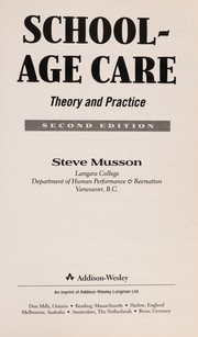 Cover of: School Age Care
