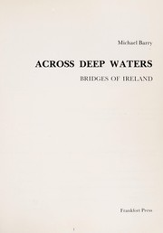 Cover of: Across deep waters : bridges of Ireland |