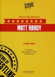 Cover of: Matt Hardy | Jason D. Nemeth