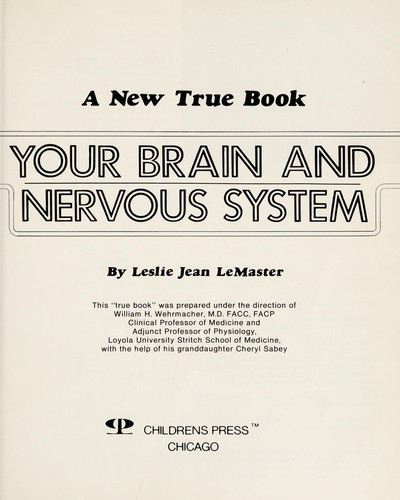 Your brain and nervous system by Leslie Jean LeMaster