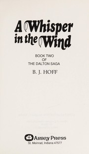 Cover of: A whisper in the wind | B.J. Hoff