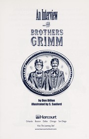 Cover of: An interview with the brothers Grimm