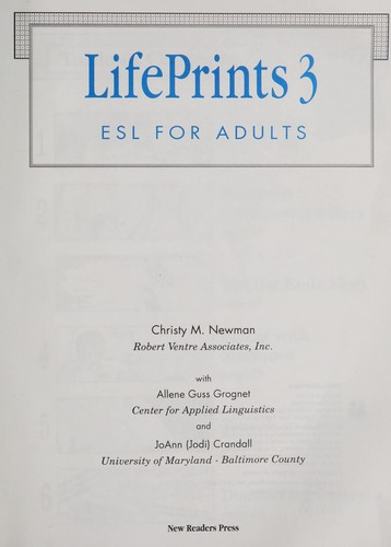LifePrints 3 : ESL for adults by