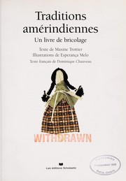 Cover of: Traditions amerindiennes