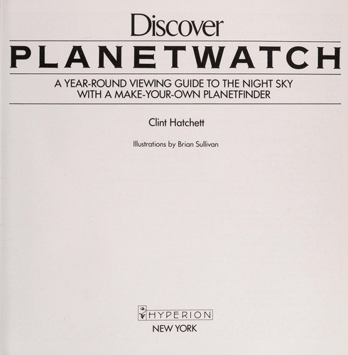 Discover planetwatch by Clint Hatchett