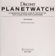 Cover of: Discover planetwatch | Clint Hatchett