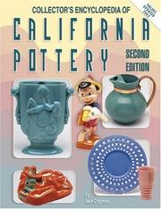 Collector's encyclopedia of California pottery by Jack Chipman