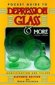 Cover of: Pocket Guide to Depression Glass & More Identification (Pocket Guide to Depression Glass & More)