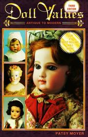 Cover of: Doll Values Antique to Modern
