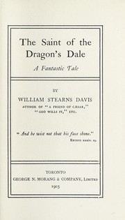 Cover of: The saint of the Dragon's Dale