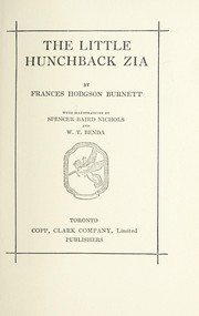 Cover of: The little hunchback Zia