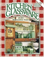 Cover of: Kitchen glassware of the Depression years